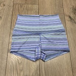 Lululemon Boogie Shorts Space Dye Twist Lullaby